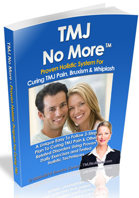 TMJ No More(TM) - TMJ Cure Book